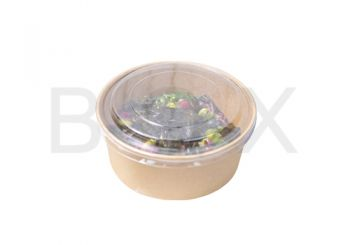 กล่องอาหารทรงกลมพร้อมฝา 750ml. ไซส์ S