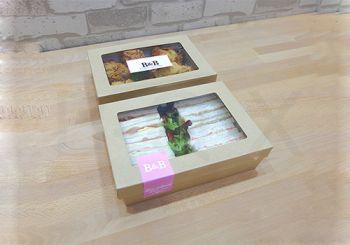 กล่องอาหารพร้อมฝาไซส์ 18.5x11.2x4 ซม.